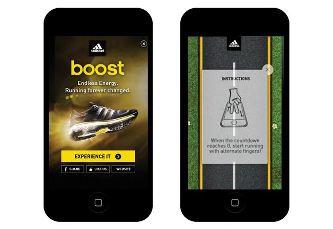 Adidas advertise