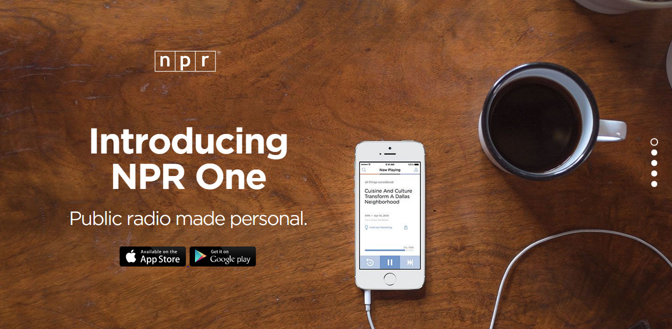 NPR One – The blueprint for mobile radio apps?
