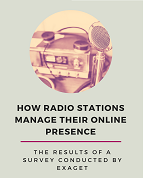 How Do Radio Stations Manage their Online Presence? | Infographic