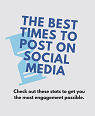 The Best Times to Post on Social Media – Infographic