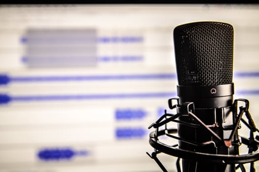 Radio advertising effectiveness - microphone